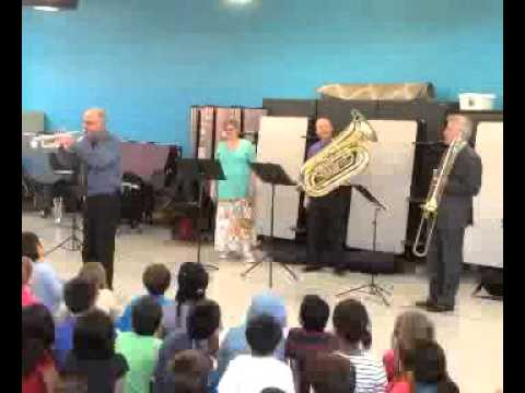 New England Brass Ensemble Comes to Bowman School