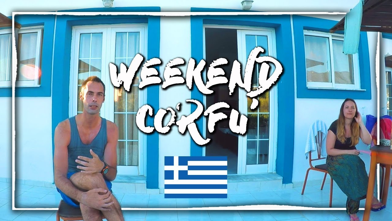 Weekend a Corfù  2018 (Grecia) ✈ Vlog