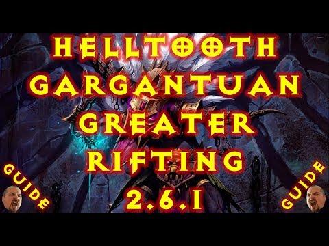 Diablo 3 WD Helltooth Gargantuan Gr Solo 2.6.1