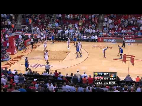 Warriors intentionally foul to prevent the Rockets