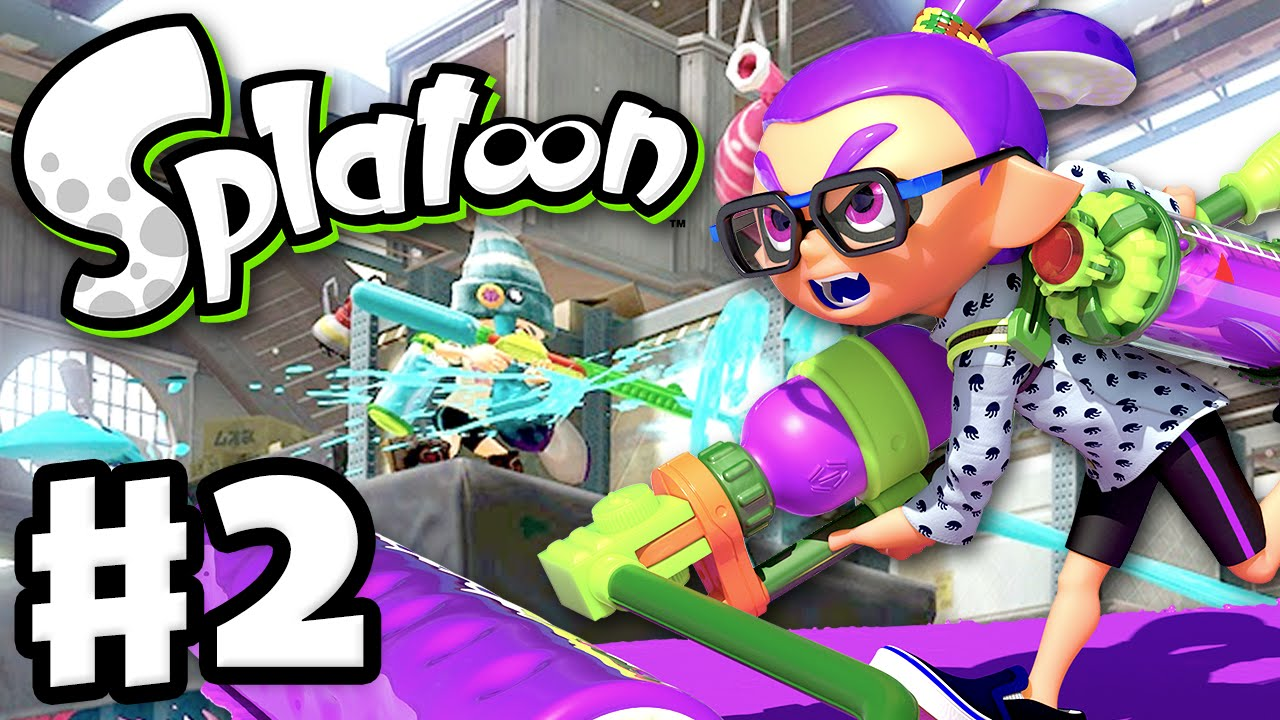 Splatoon Gameplay Walkthrough Part 2 Splat Roller