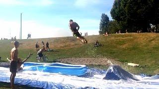 Epic Slip n Slide Ramp