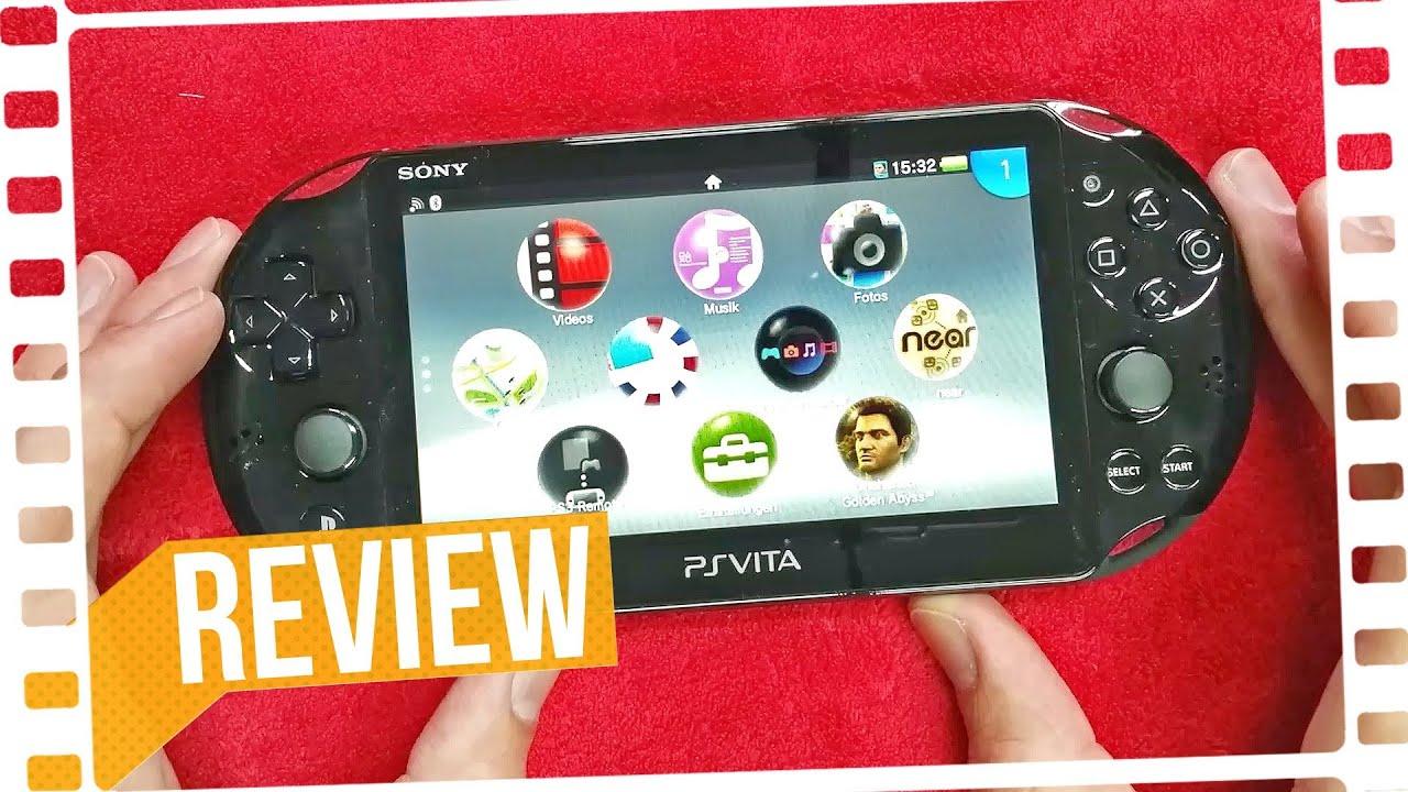 Sony Ps Vita Slim  Review  4k  Youtube