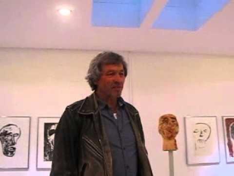 Hrdlicka Andenken, Johann Schickinger, Bildhauer, Berlin, Galerie Gieserei Flierl 10.5.2014