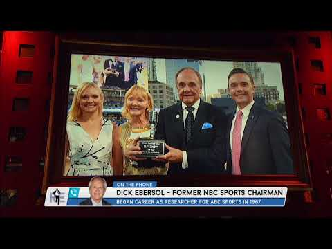 Former NBC Sports Chairman Dick Ebersol on Enberg's Excitement for Muhammad Ali in '96 Olympics