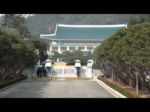 The Blue House (Cheong Wa Dae)-South Korean Presidential Office/Residence