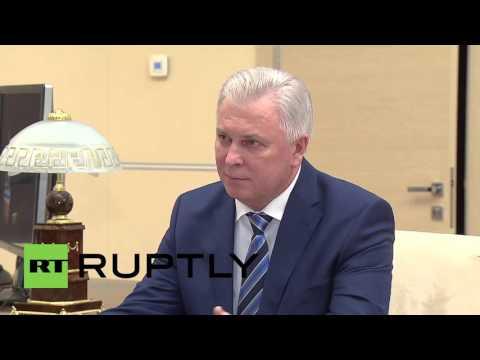 Russia: Putin briefed on economic dev. in Buryatia by Republic Head Nagovitsyn