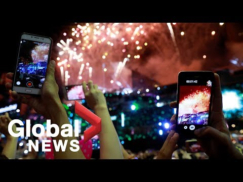 New Year's 2019: Firework celebrations around the world