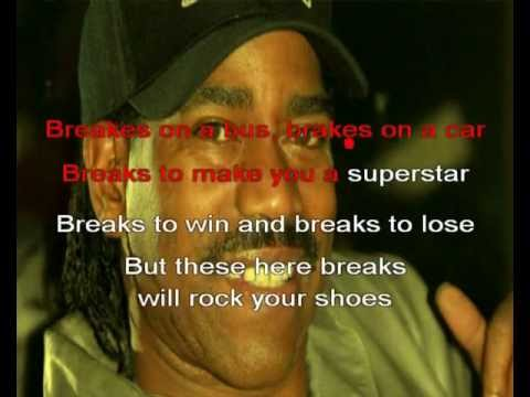 Karaoke Rap - The Breaks Kurtis Blow Instrumental Version 1980