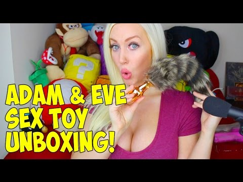 ADAM & EVE SEX TOY UNBOXING!