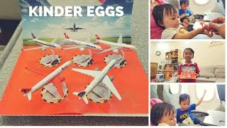 Baby Play Funny Eggs Kider Surprise Airbus A330-300 At Da Nang Airport Video For Kids | HT BabyTV ✔︎