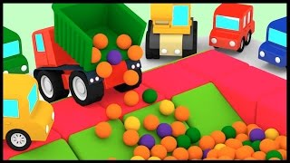 DANGER SLIDE! - Ball Pit PARTY 2 - Cartoon Cars.Kid's Cartoons.Car Cartoons for Kids.Videos for Kids