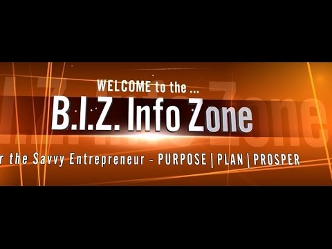 BIZ Info Zone Show [4/30/15] Fundraising Success - CrowdFunding, CrowdSourcing or Crowd$haring??
