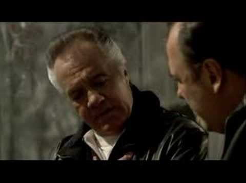 Sopranos-Paulies last ever scene?