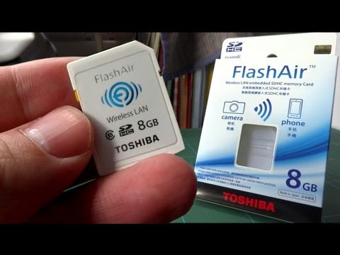 Toshiba FlashAir better than Eye-Fi!