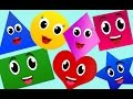 The Shapes Song | Nursery Rhymes | Nursery Rhymes With Lyrics