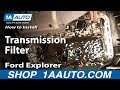 How To Install Replace Change Transmission Filter Ford Explorer 95-01 1AAuto.com