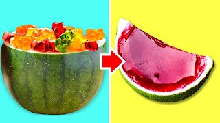 23 LIFE HACKS FOR TRUE FOOD LOVERS! || Watermelon hacks and cooking ideas