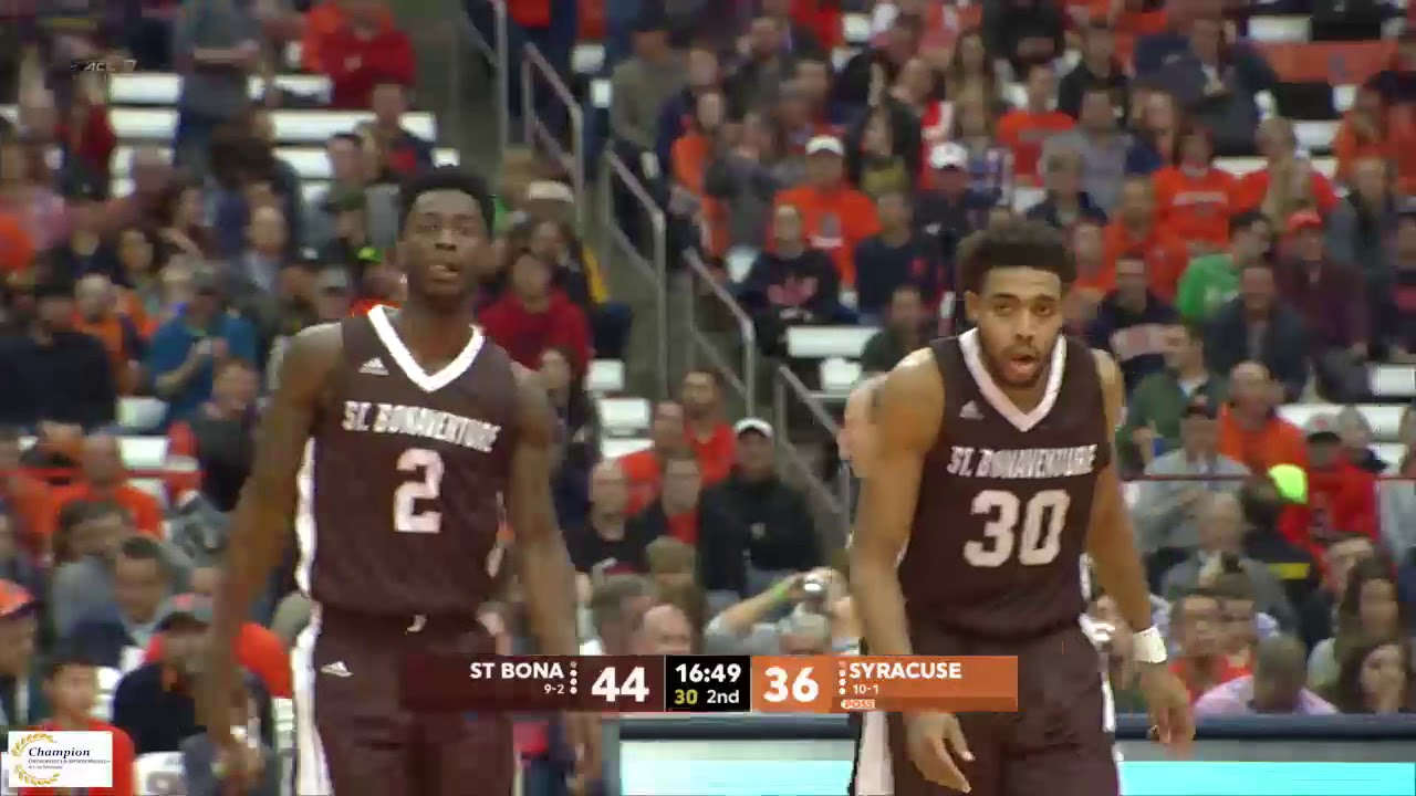 photograph about Syracuse Basketball Schedule Printable referred to as MBB St. Bonaventure vs. Syracuse - Dec. 22, 2017 - St