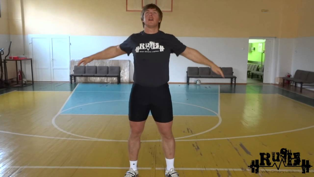 (Eng sub) Dmitry Lapikov about snatch training in the base ...