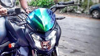 Modified Dominar 400 Black 2018 edition  Go Hyper Ride  by biker soul