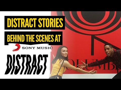 Distract Stories: Behind The Scenes & Filming Mayhem at Sony Music HQ