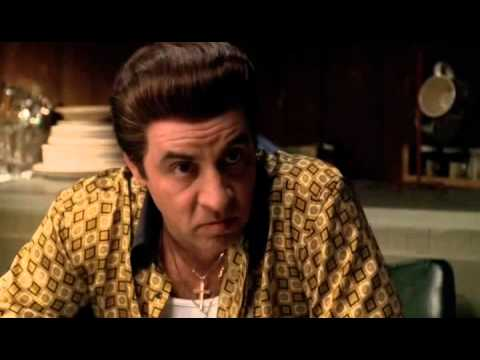 The Sopranos - Silvio and tony on Italian Americans