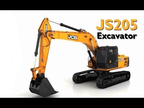 JCB JS 205 Tracked Excavator Explained
