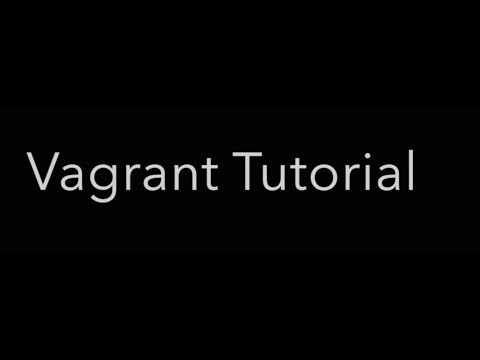vagrant tutorial getting started vagrant boxes