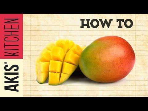 How to cut a Mango | Akis Petretzikis Kitchen
