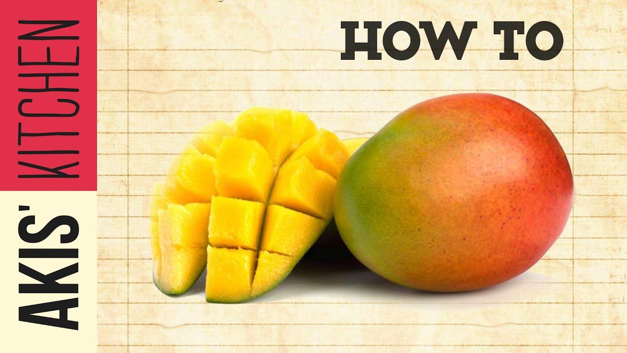 How To Cut A Mango  Akis Kitchen