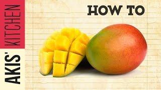How to cut a Mango | Akis Petretzikis