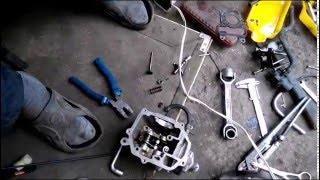хонда аф 56 притирання клапонов та налаштування