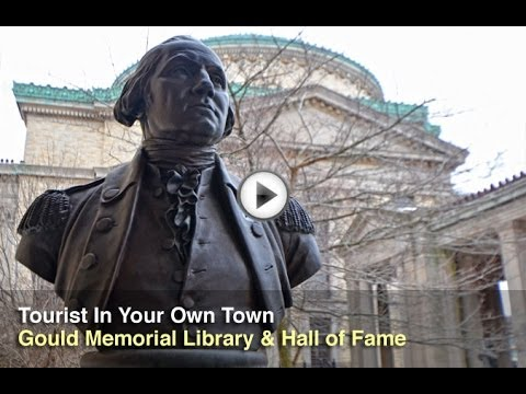 Tourist In Your Own Town #30 - Gould Memorial Library and Hall of Fame