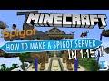 How To Make A Spigot Server in Minecraft 1.15.1
