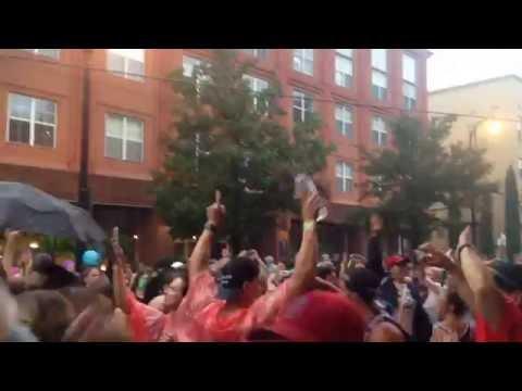 Music Midtown rain evacuation Whitney Houston dance party