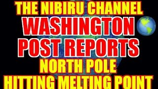 North Pole Hits Melting Point December 24th 2016