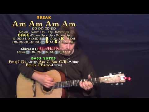 Ain't My Fault (Zara Larsson) Guitar Lesson Chord Chart - Capo 2nd