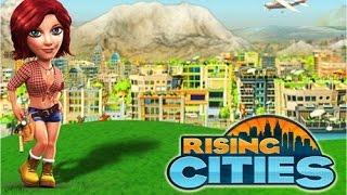 Rising Cities 2013: строительные игры. Видео обзор симулятора