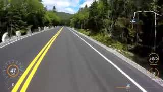 Fast Road Bike Descent - Whiteface Mountain - 58 mph