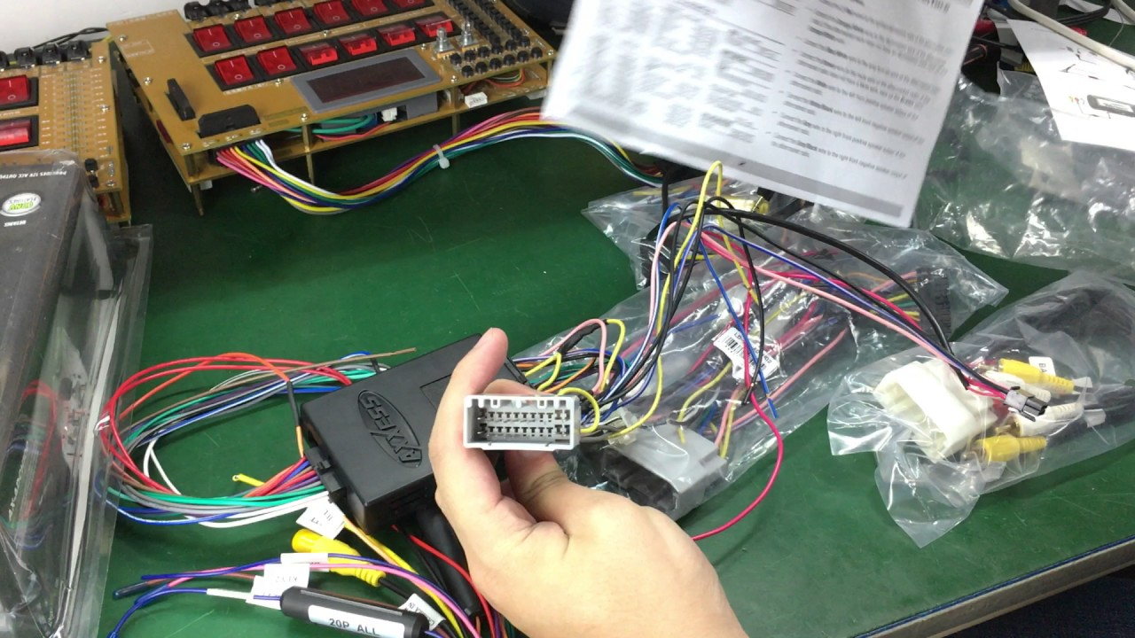ChryslerDodgeJeep wiring diagrams on Joying ISO Harness Aftermarket Head Unit  YouTube