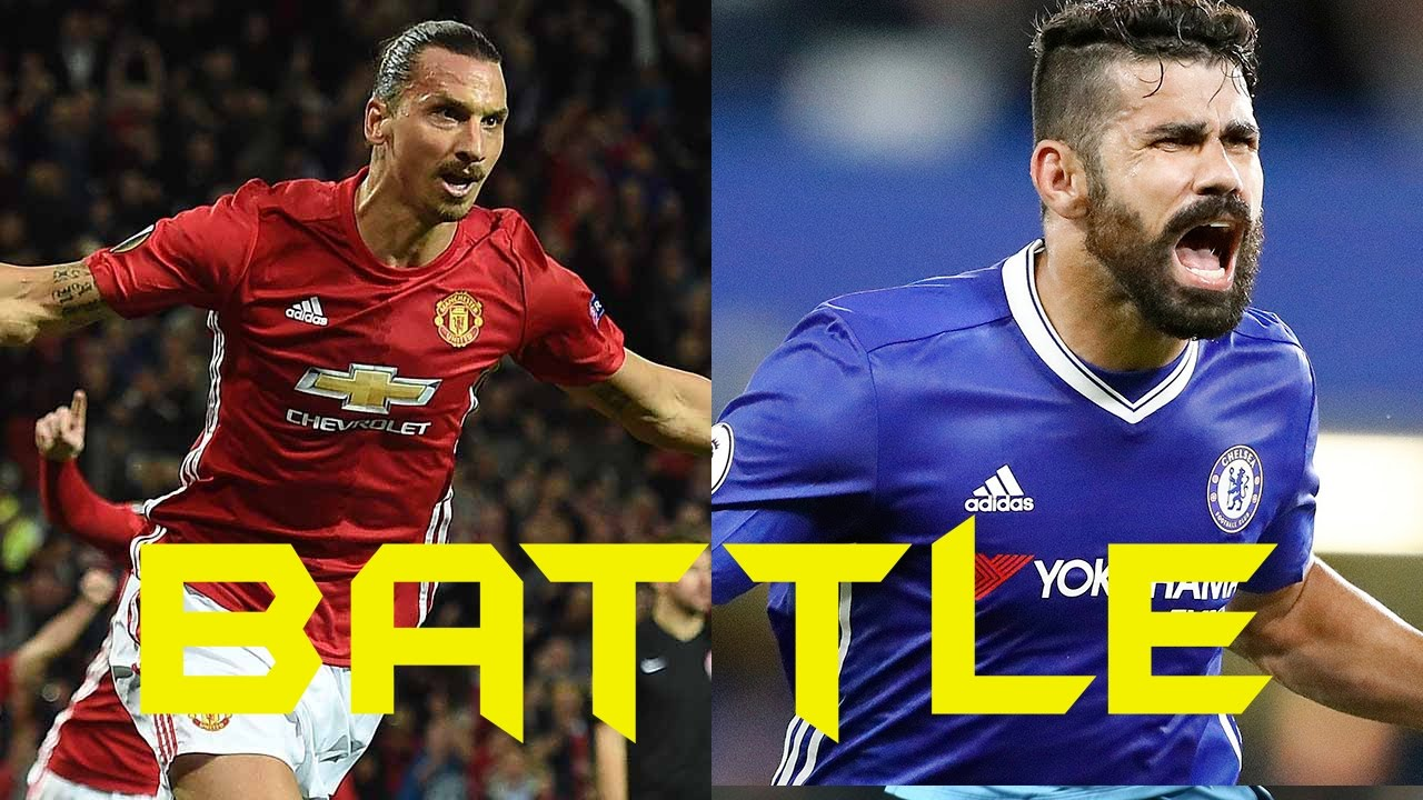 Download Player Battle►Zlatan Ibrahimovic vs Diego Costa 2016/17 HD Skills●Asists●Goals●Who is better?