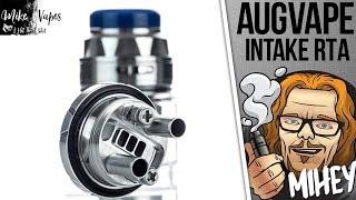 Augvape Intake RTA. Односпиральнвя непроливайка. 🎷🎻🎹🎸