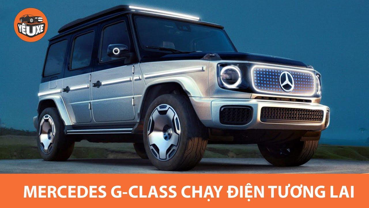 Mercedes Benz EQG Concept - G Class chạy điện tương lai |Yêu Xe|