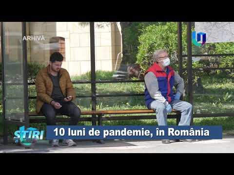 TeleU: 10 luni de pandemie, în România