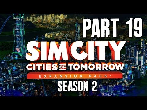 SimCity Cities of Tomorrow Walkthrough Part 19 - GLOBE THEATRE