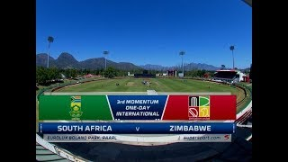 South Africa vs Zimbabwe   Highlights   3rd Momentum ODI