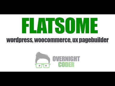 Flatsome  Tutorial Wordpress Woocommerce - UX Pagebuilder