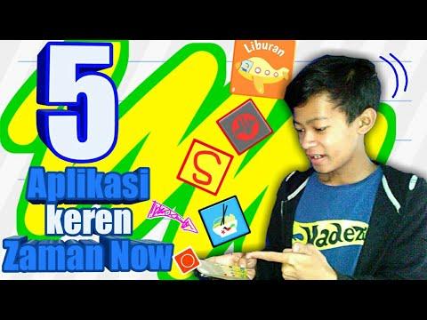 5 Aplikasi keren Zaman Now...!!