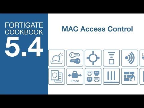 FortiGate Cookbook - Device MAC Access Control (5.4)